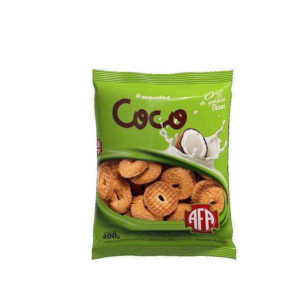 Biscoito Rosquinha AFA Coco 400g