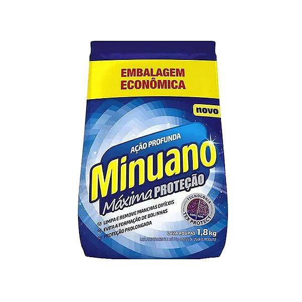 Sabão em Pó Minuano Ação Profunda 1,8kg