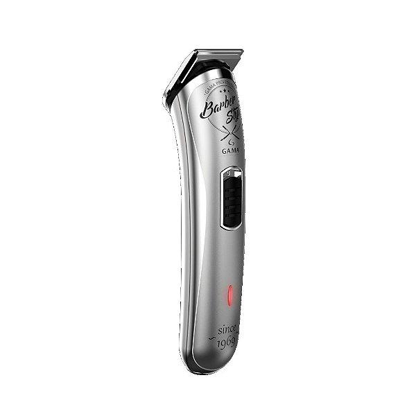 Máquina de Acabamento Gama Barber Style USB Prata