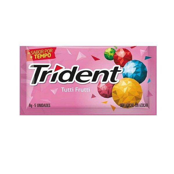 Chiclete Trident Tutti Frutti 8g