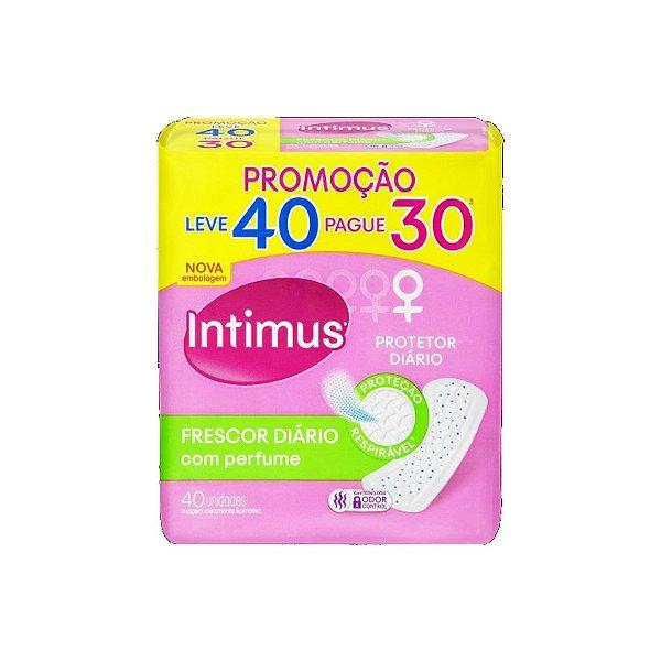 Protetor Diário Intimus Frescor Diário Pague 30 Leve 40