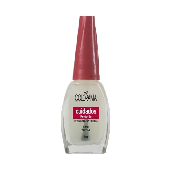Esmalte Colorama Cuidados Proteção Base Setim 8ml