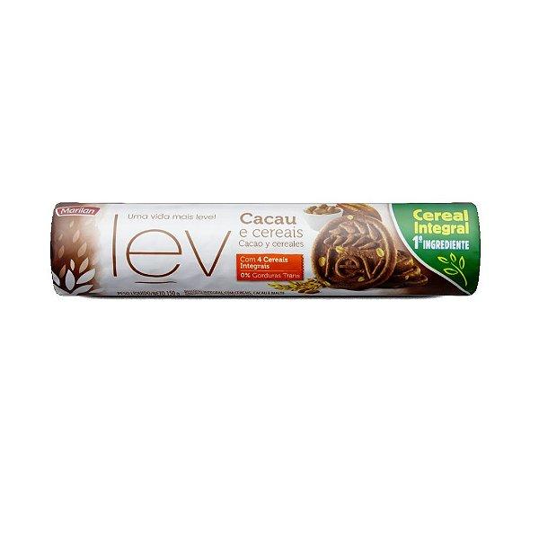 Biscoito Marilan Lev Cacau e Cereais 150g