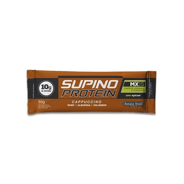 Barra Supino Protein Capuccino 30g