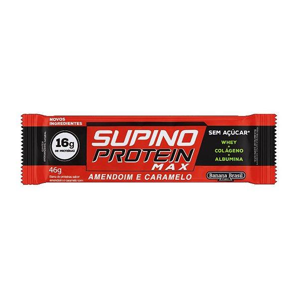 Barra Supino Protein Amendoim e Caramelo 46g