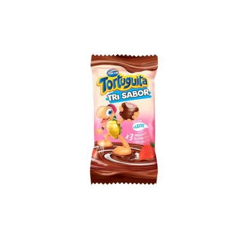 Chocolate Arcor Tortuguita Tri Sabor 18g