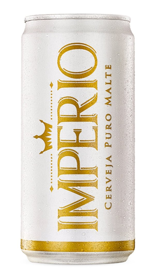 Cerveja Império Puro Malte Lata 350ml