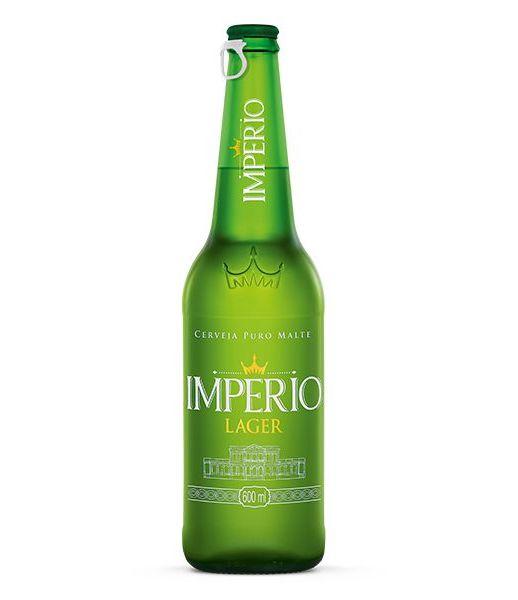 Cerveja Império Puro Malte Lager 600ml