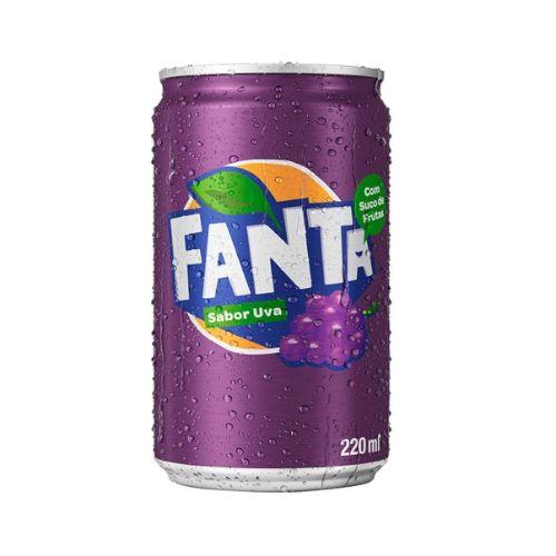 Refrigerante Fanta Uva 220ml