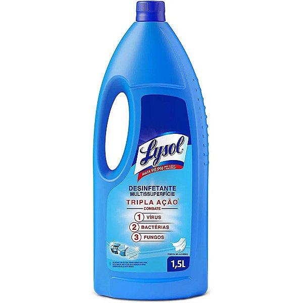 Desinfetante Líquido Lysol Pureza do Algodão 1,5L
