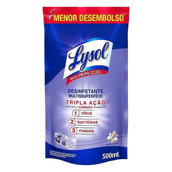 Desinfetante Líquido Lysol Brisa da Manhã 500ml