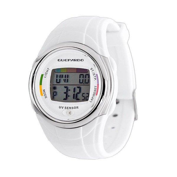 Relogio digital medidor UV Guepardo OE0400 cod. RDR-19912
