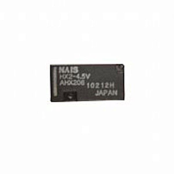 Micro Rele Nais 2 Contatos Reversíveis HX2-4.5v