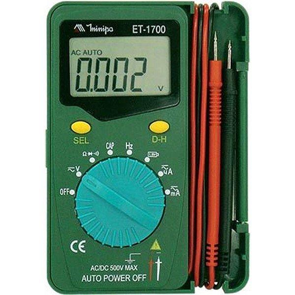 Multimetro Digital ET1700 Minipa