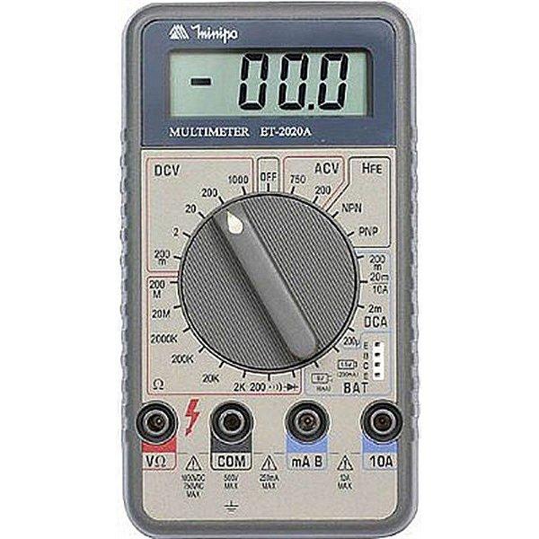 Multimetro Digital ET2020 Minipa