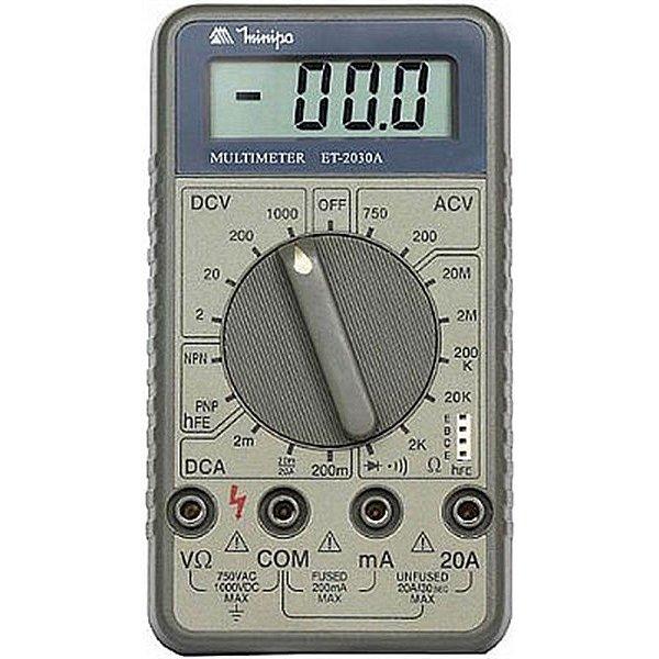 Multimetro Digital ET2030 Minipa