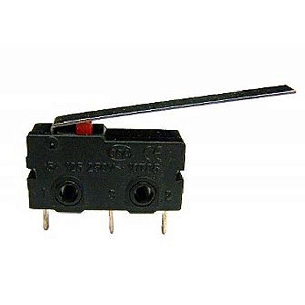 Micro Chave 5 Amper com Aste e 56mm KW11-3Z-5-3T