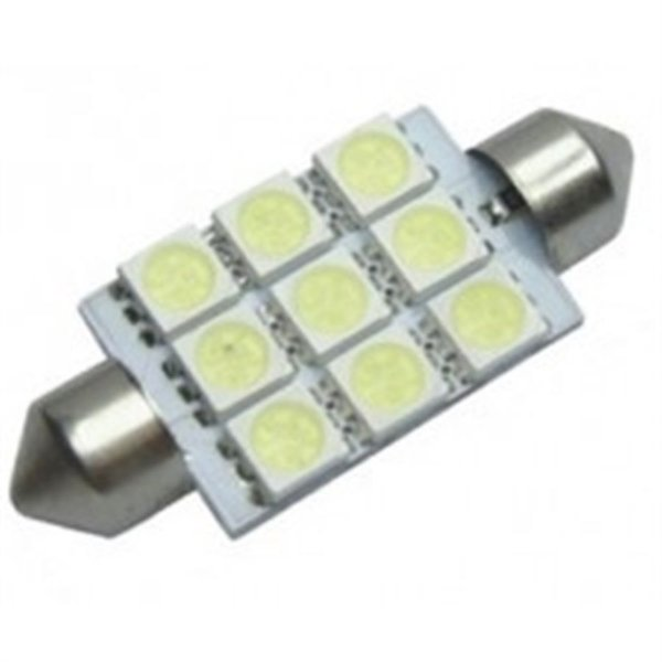 Lâmpada Led BA42-5050-9 - 9 Leds Automotiva