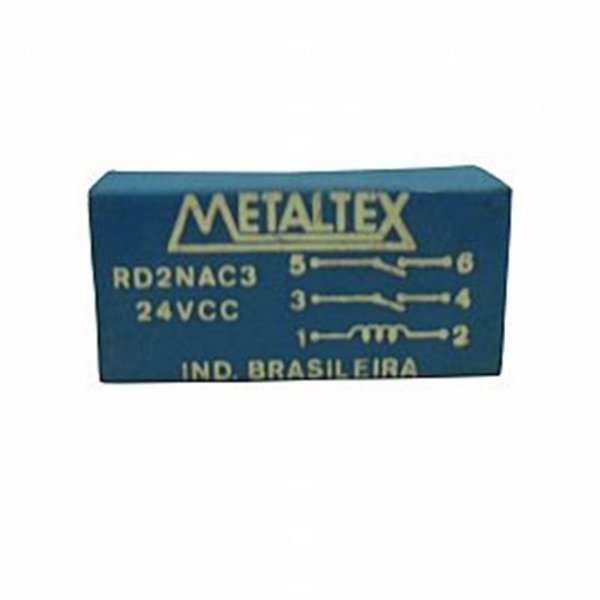 Rele Metaltex Reed 2 Contatos RD2NAC3