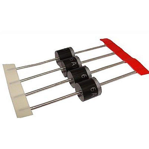 Diodo Retificador 6 Amper 1000v 6A10