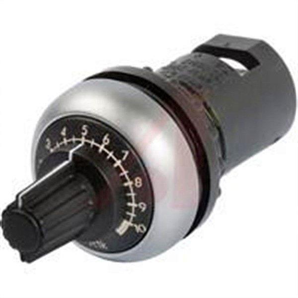 Potenciometro para Painel 22mm Completo com Redutor de Precisão M22-R4K7