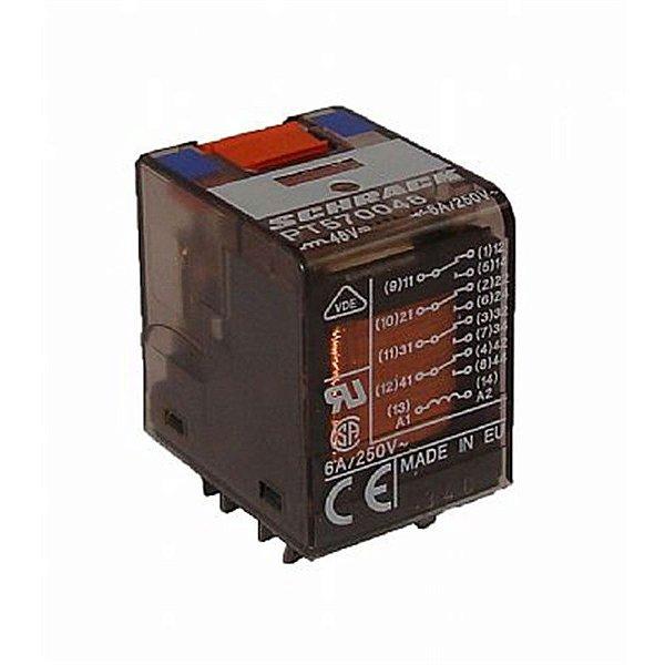 Rele Schrack 4 Contatos Reversíveis PT570048