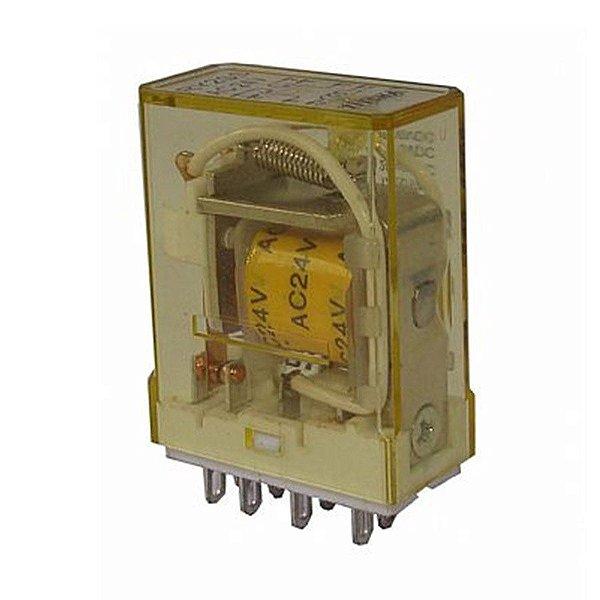 Rele 2 Contatos 2 Amper 24VCA RY2-S-AC24