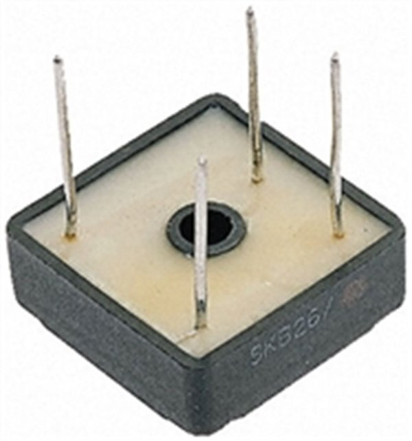 Ponte Retificadora monofasica 25amper 800v para placa ci  SKB26/08 Semikron RDR-59