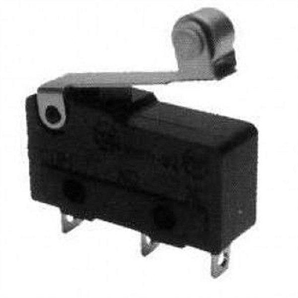 Micro Chave KW11-3Z-5A com Roldona 5 Amper Contato NA/NF