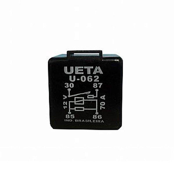 Rele  Auxiliar Automotivo 4 pinos 1 contato n/a 70 amper  bobina 12vdc U062 CODIGO COMPRA -21309