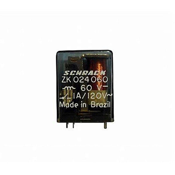 Rele Schrack 2 Contatos Reversíveis ZK024060