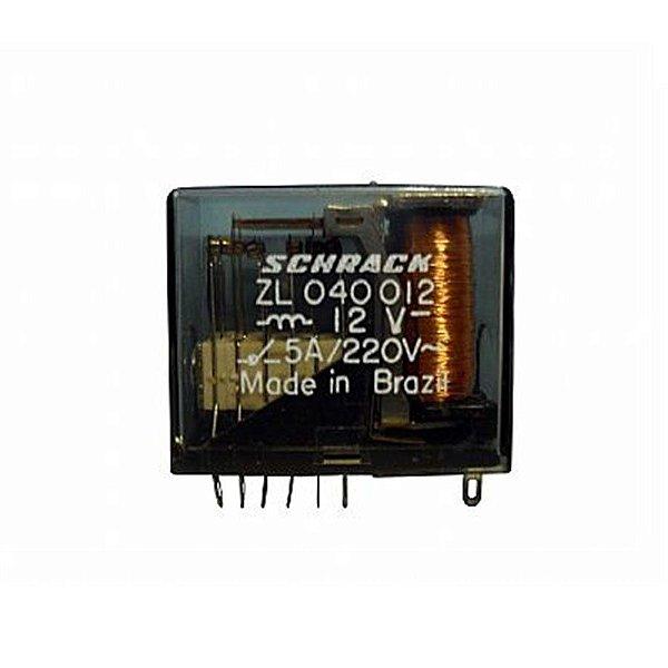 Rele Schrack 4 Contatos Reversíveis ZL 040012