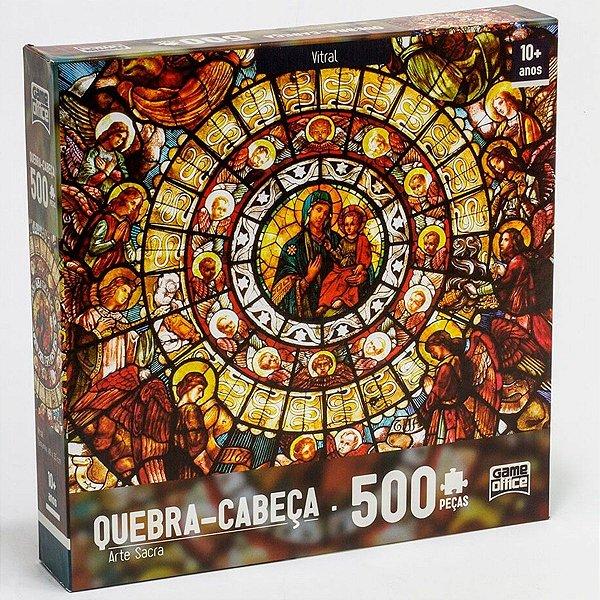 2423 QUEBRA CABEÇA ARTE-SACRA 500PEÇAS