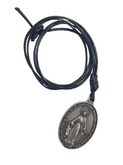 Cordão com pingente Medalha Milagrosa (45mm)
