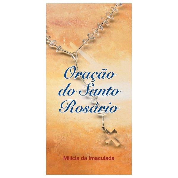 Folheto de Oração do Rosário (com 10 unidades)