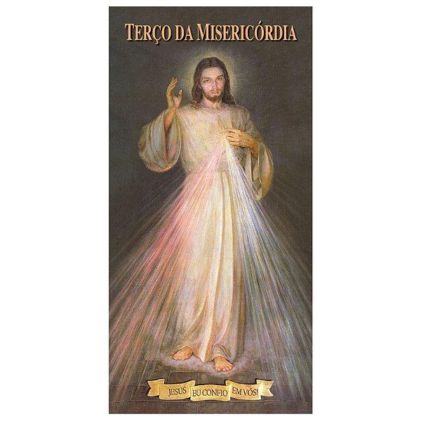 Folheto de Oração do Terço da Misericórdia (com 10 unidades)
