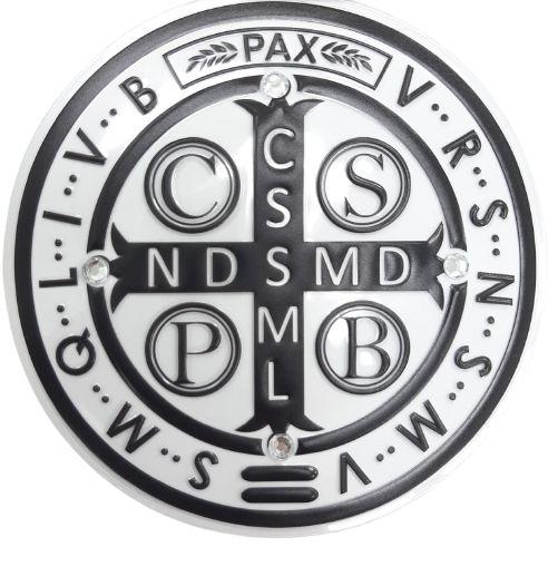Adesivo para carro Medalha São Bento
