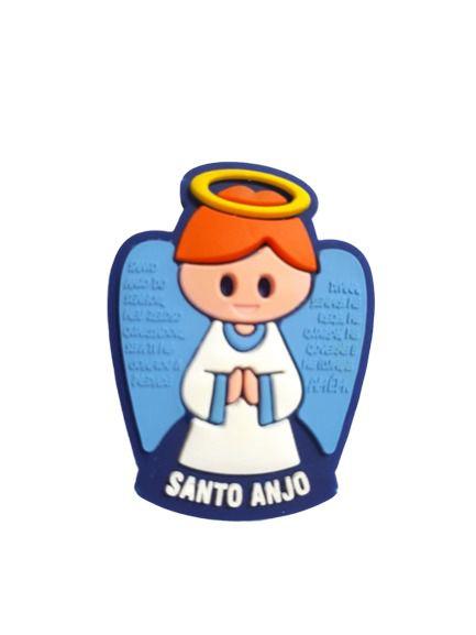 Imã Borracha Santo Anjo Azul