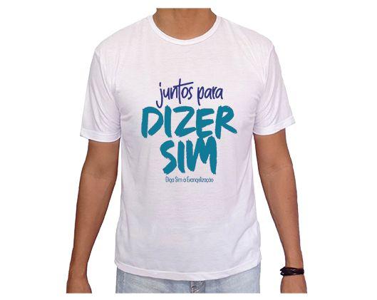 Camiseta Adulto Diga Sim 2020