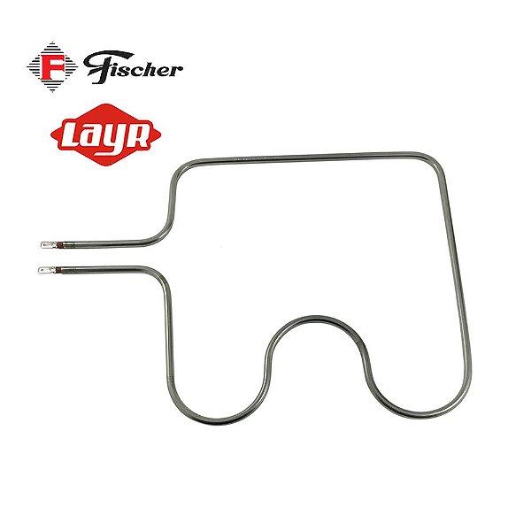 Resistência Elétrica Inferior Forno Fischer / Layr 1000w 26cm