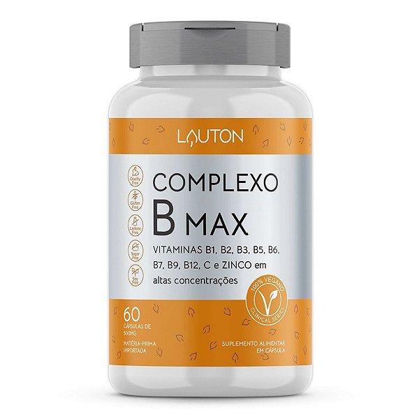 Complexo B Max - Pote com  60 capsulas