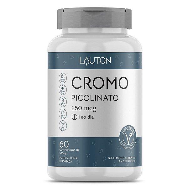 Cromo Picolinato - Pote com 60 capsulas de 250mcg