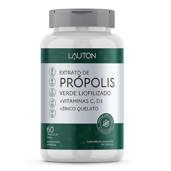 Extrato de Própolis Verde Liofilizado - Pote com 60 capsulas
