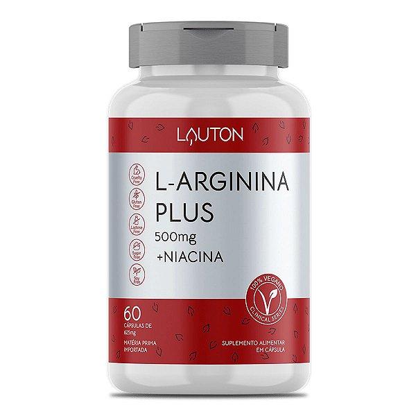 L-Arginina Plus - Pote de 60 cápsulas