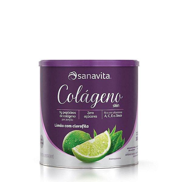 Colágeno Skin Limão Com Clorofila 300G