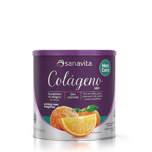 Colágeno Skin Men Care Hidrolisado sabor Laranja + Tangerina 300g