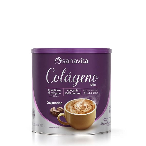 Colágeno Skin Sabor Cappuccino 300g