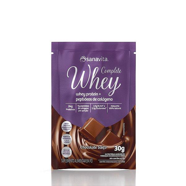 Complete Whey  Sabor Chocolate Suíço Sachê 30g