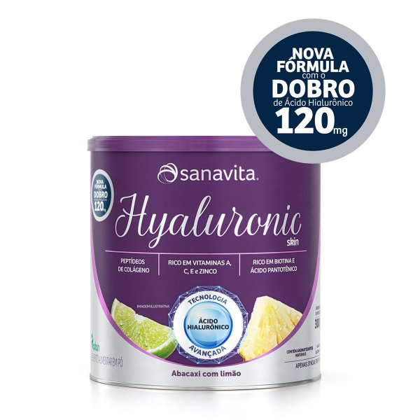 Hyaluronic Skin Abacaxi Com Limão 300g
