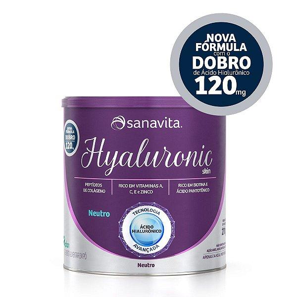 Hyaluronic Skin - Neutro - Lata de 270g